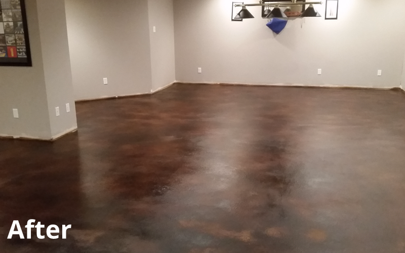 Stained  Concrete